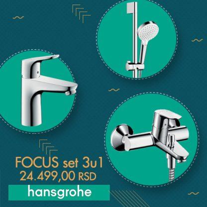 HANSGROHE FOCUS SET 3 U 1