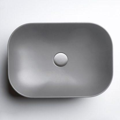 AXA DECUS LAVABO PRAVOUGAONI 60x35 cm SIVI 8530009