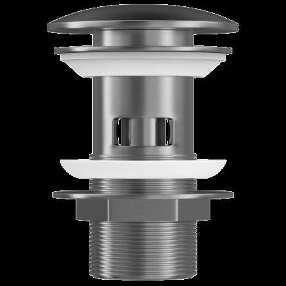 Duten A856-S inox mat klik klak sifon za lavabo sa prelivom