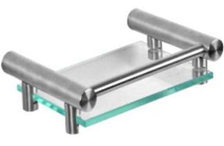 Duten A883-S inox mat držač sapuna