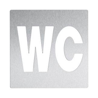 Duten A885-S inox mat oznaka za wc